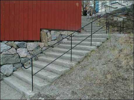 stenblock trappa